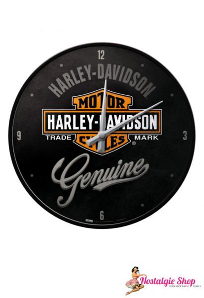 Nostalgic Art Wanduhr Harley Davidson