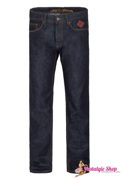 King Kerosin Robin Dark Blue Hot Rod Rokabilly Jeans
