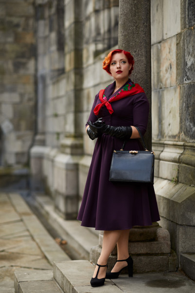 Adelaise-Plum Swingkleid Miss Candyfloss
