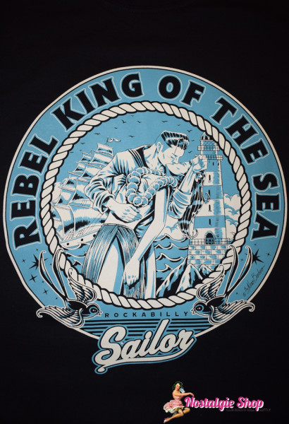 Nano Barbero T-Shirt - Rebel King Of The Sea