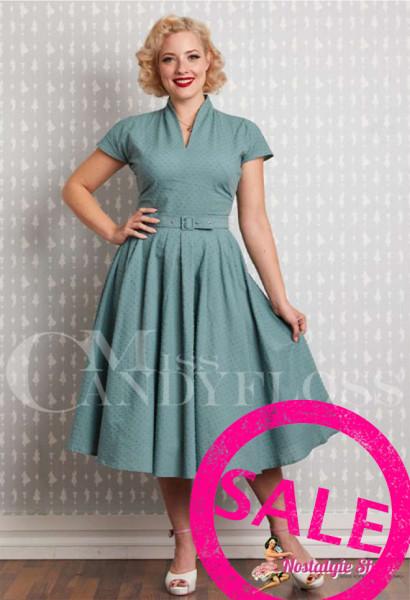 Miss Candyfloss Arina-Mint Swingkleid