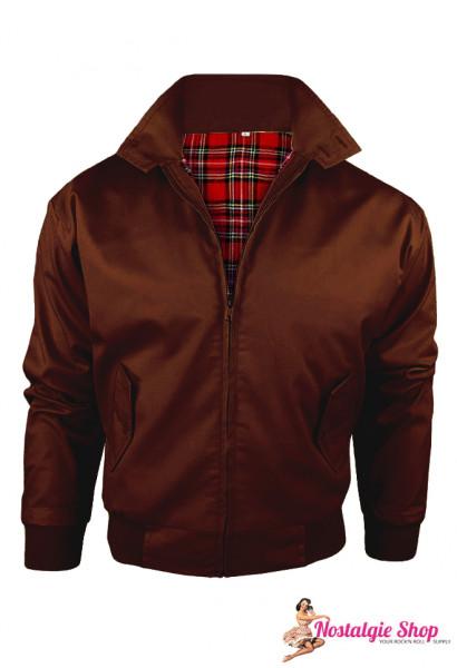 Youth Bulge Harrington Jacke - braun St. Pauli Farbe