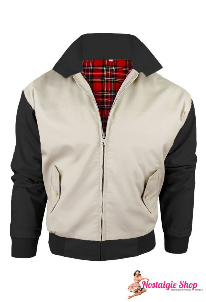 Harrington Jacke - two tone