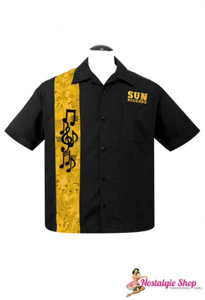 Steady Bowling Shirt - Sun Records Golden Notes