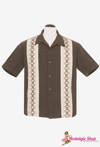 Steady Bowling Shirt - Guayabera Estable
