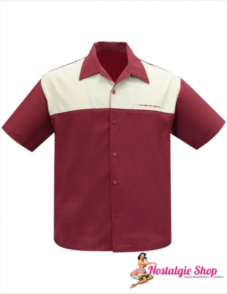 Steady Bowling Shirt - The Earl