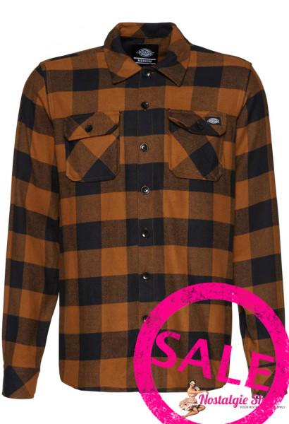 Dickies Holzfällerhemd Sacramento - braun