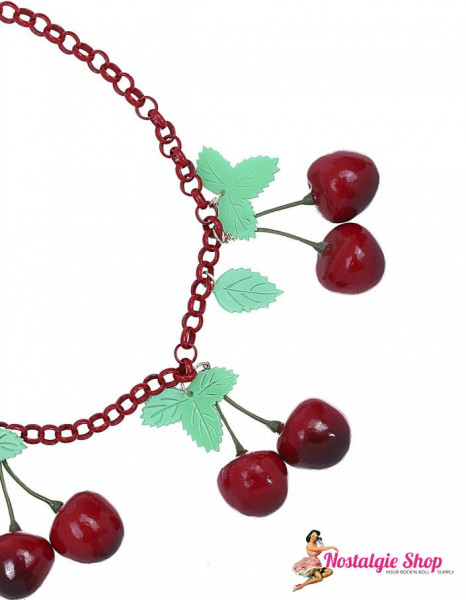 Collectif 40s Kirschen Halskette