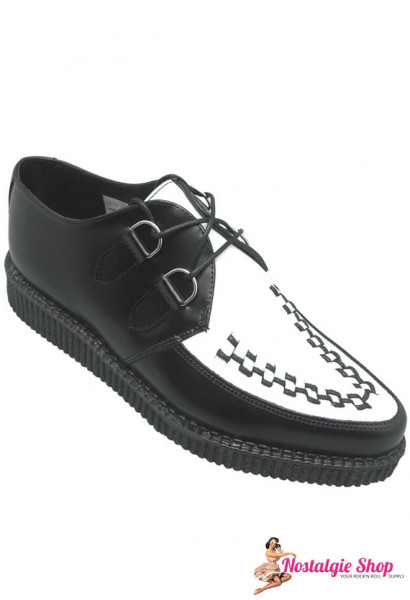 Boots & Braces Rockabilly Creeper - two tone Teddyboy