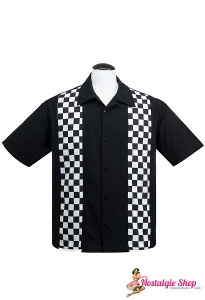 Bowling Shirt - V8 Checkered