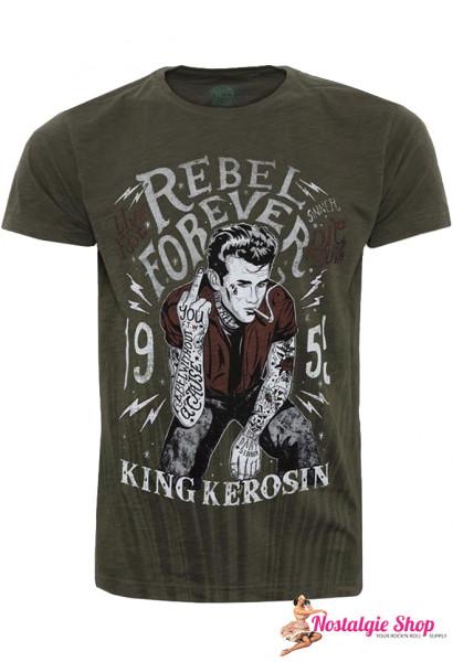 KK Rebel Forever T-Shirt mit James Dean