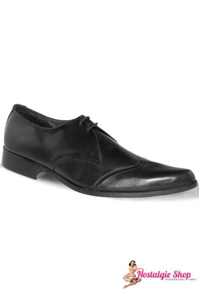 Boots & Braces Piker Glattleder mit Naht 50s Teddyboy Kult