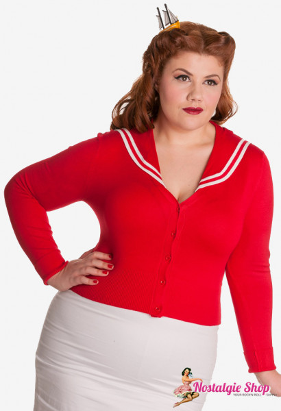 Cardigan - Sailor rot