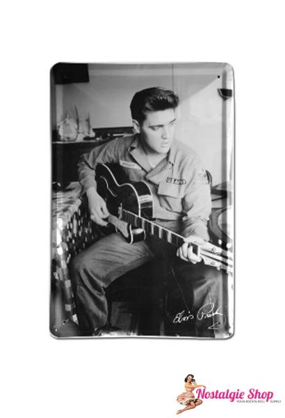 Elvis Blechschild
