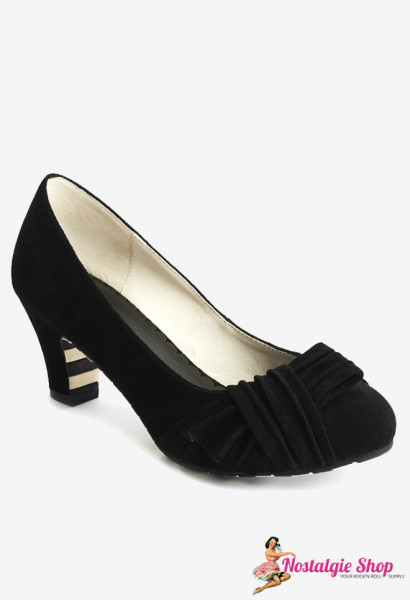 Lola Ramona - Ava Paint it Black Pumps