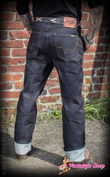 Rumble59 Raw Denim Jeans - 14,0 oz