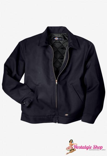 Eisenhower Worker Jacke - schwarz gefüttert