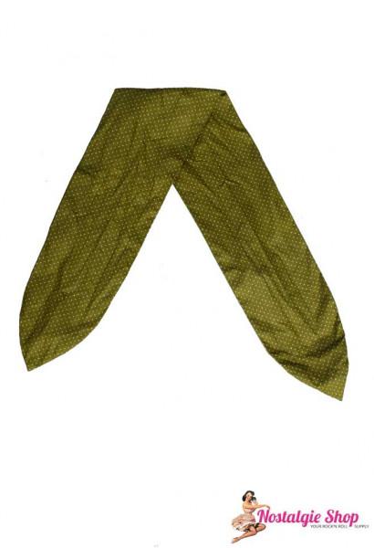 Tiki Haarband mit Draht - Microdots grün