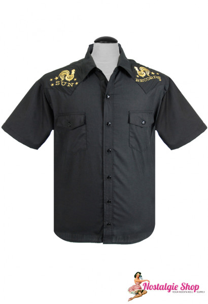 Steady Retro Western Shirt - Sun Records Rooster Crown