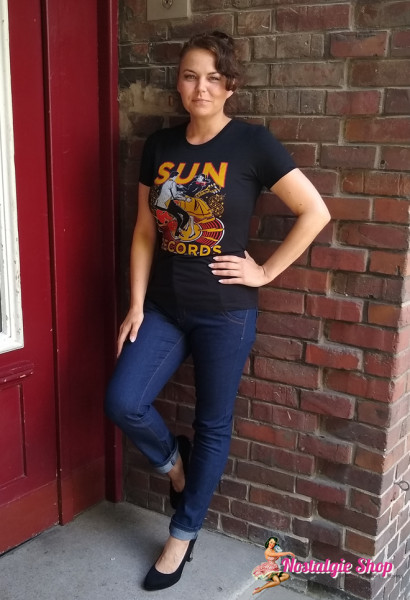 Steady Damen T-Shirt Sun Records Lindy Hop