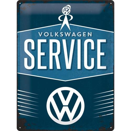 Blechschild 30 x 40 VW Service