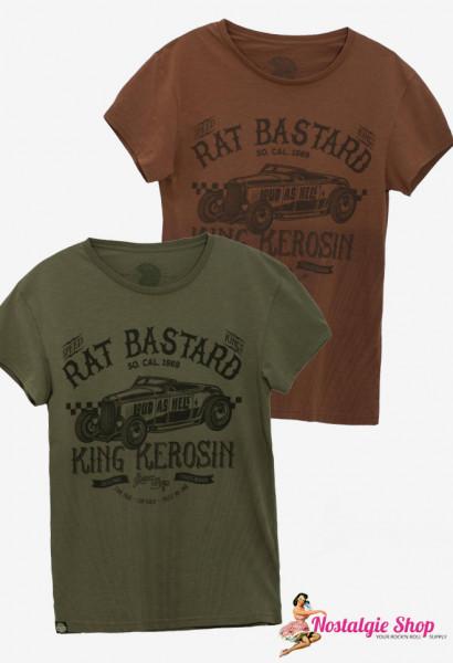 KK Rat Bastard T-Shirt - braun oder oliv