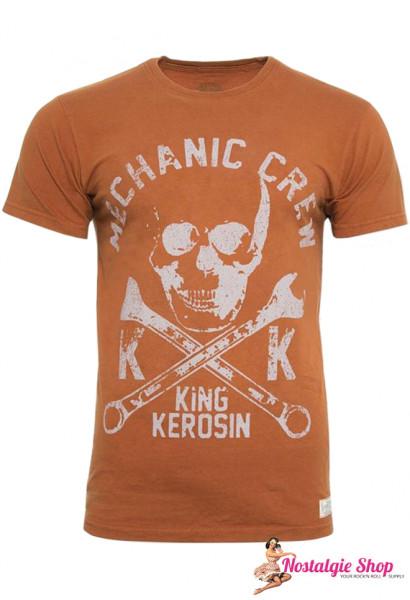 KK Mechanic Crew Totenkopf T-Shirt